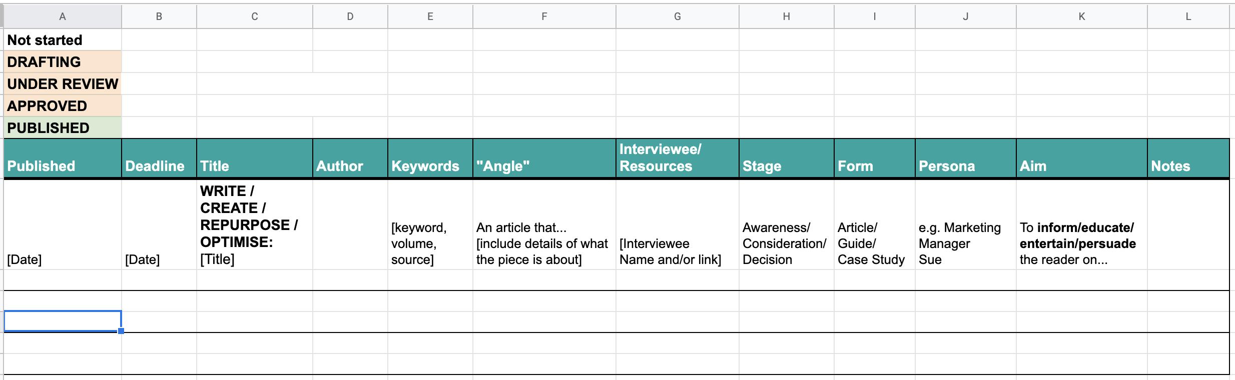 BabelQuest content calendar image