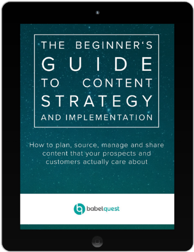 Content Strategy and Implementation Cover