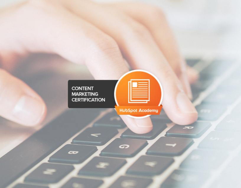 HubSpot Content Marketing Certification (1)
