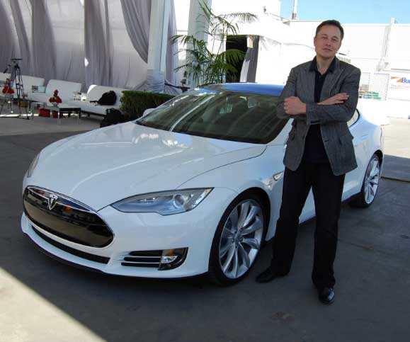 Elon Musk, the CEO of Tesla illustrating the customer-centric focus