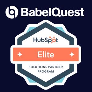 BabelQuest is now an Elite Hubspot Partner