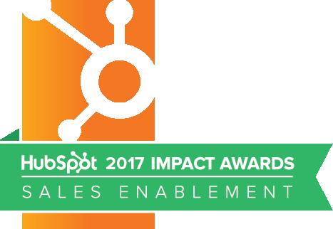 Sales Enablement Award Winner 2017