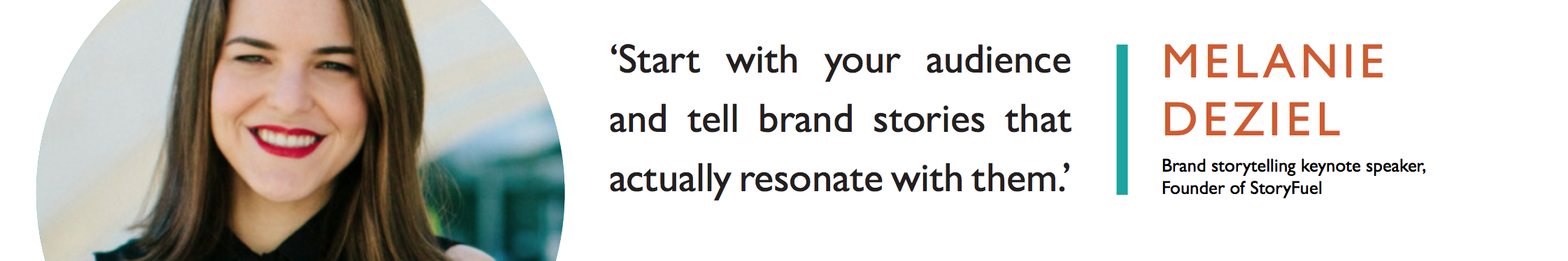 your brand has a story