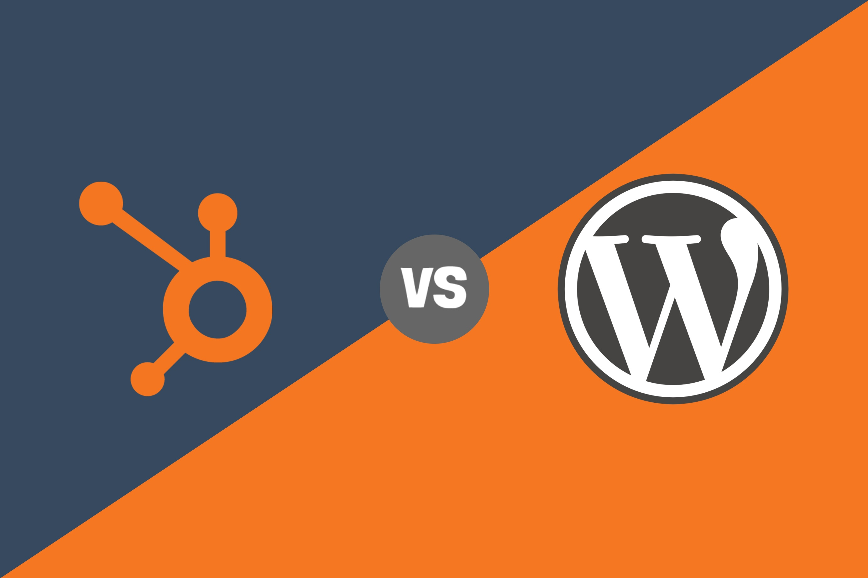 hubspot cos vs wordpress cms