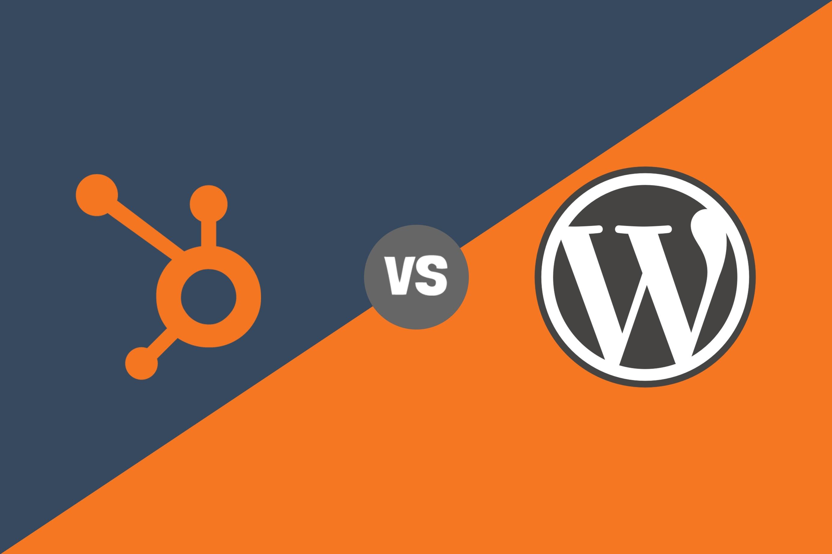 hubspot cos vs wordpress cms