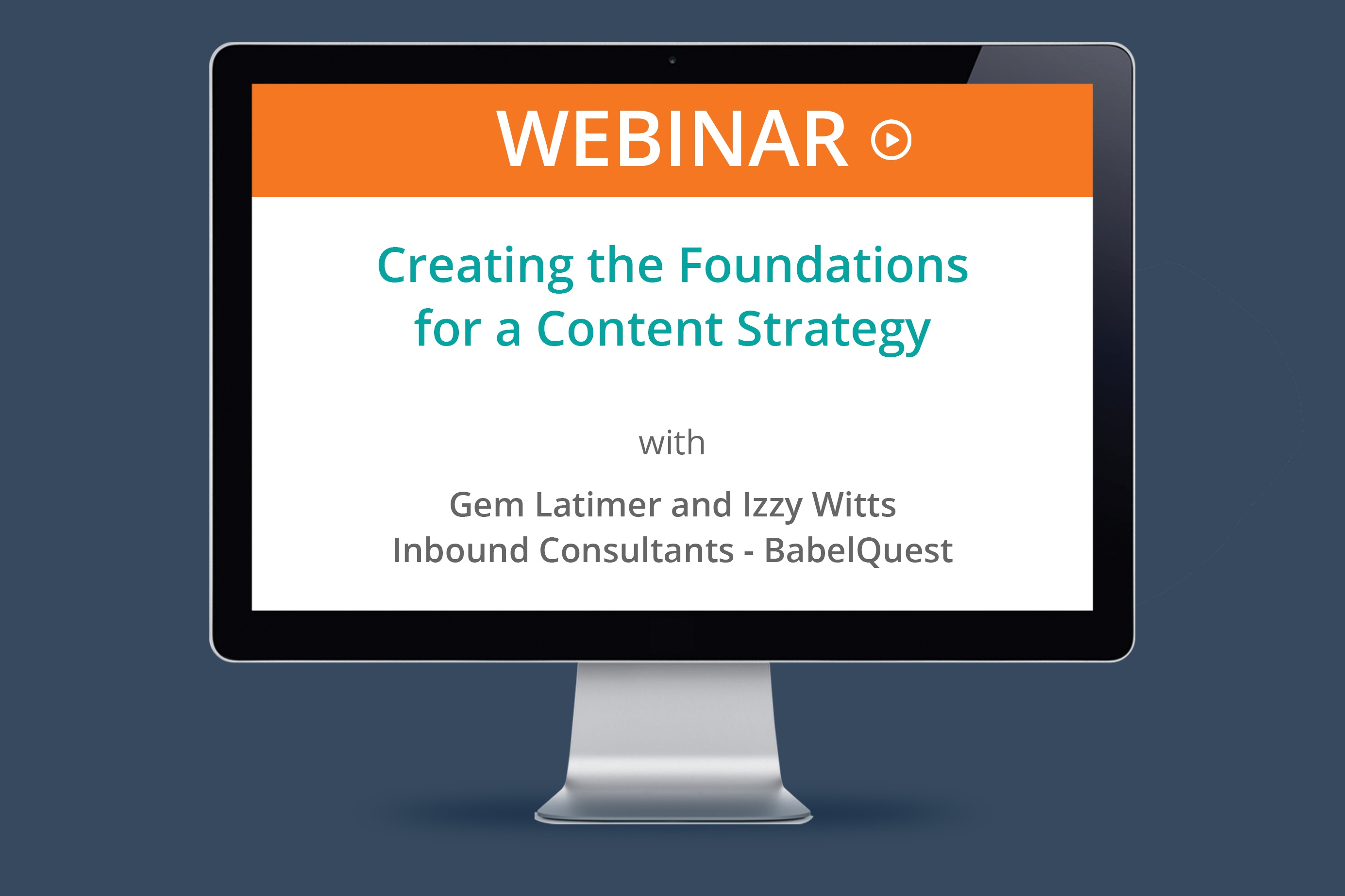 Creating The Foundations For a Content Strategy