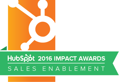 HubSpot 2016 Impact Award Winners Sales Enablement