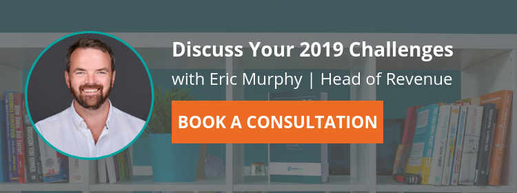 Book a consultation with Eric Murphy | BabelQuest | 2019 Business Challenges